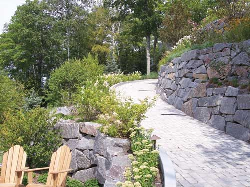 Driveways the hill and climbing on pinterest for Steep driveway construction