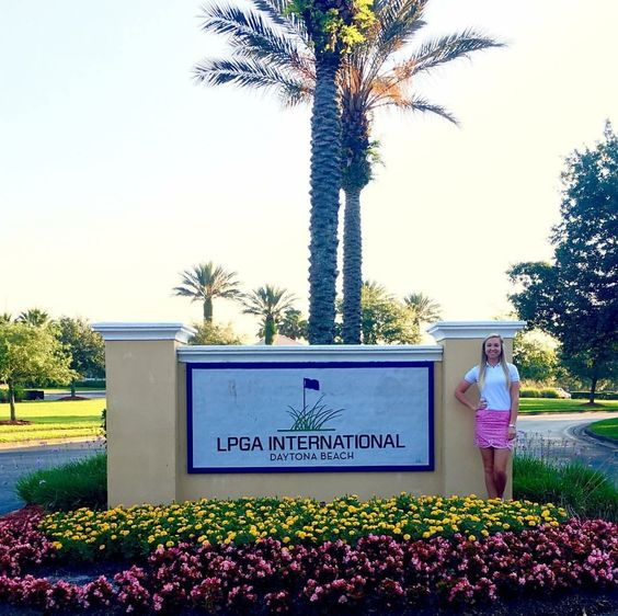 Making dreams come true at the LPGA! Spotted in our Hampton Skort and Lexi White Polo #stylewatch