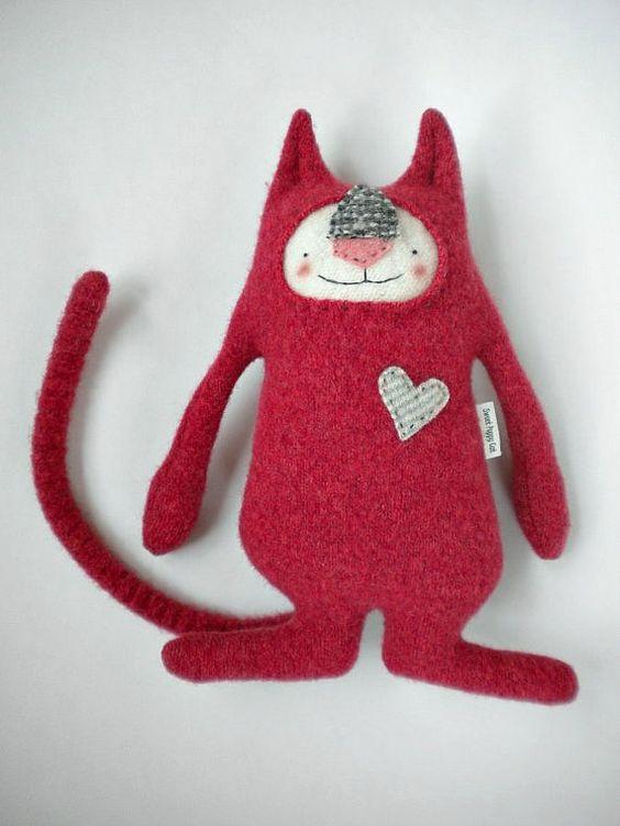 Red - Sweet Poppy Cat