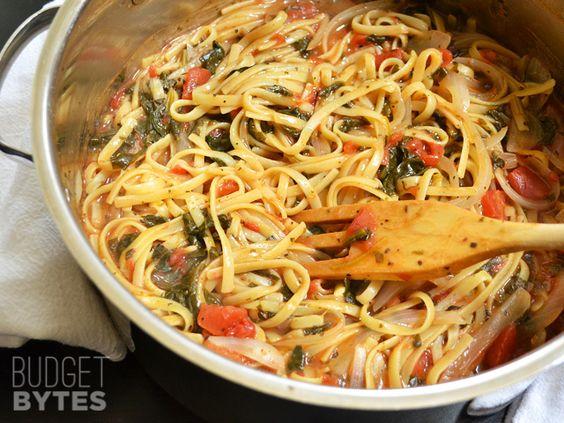 Wonderpot Italian Pasta/ 4 cups vegetable broth, 2 Tbsp olive oil, 12 ...