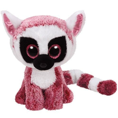 Ty Leeann The Lemur Small Animais De Pelucia Ty Bichinho De