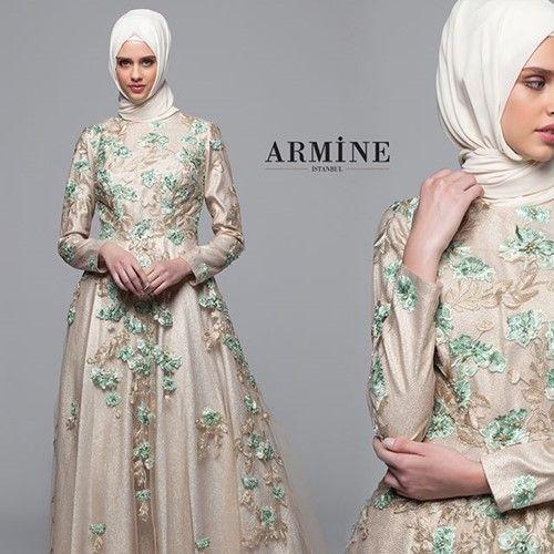 2019 Armine Tesettur Giyim Giyim Elbise Modelleri Elbise