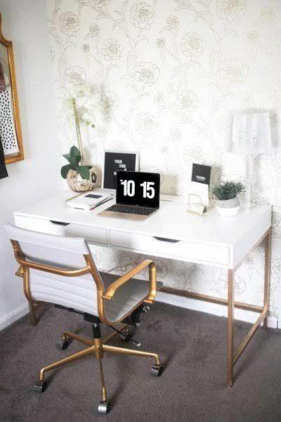 أفضل تصاميم مكاتب للمساحات الصغيرة Ikea Desk Small Computer Desk