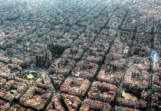 Design Of Eixample, Barcelona