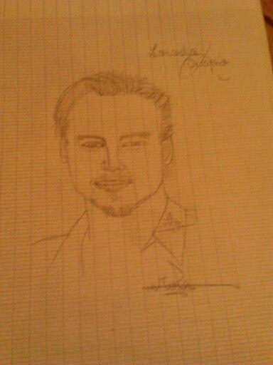 Leonardo DiCaprio by mira chidiac (me)