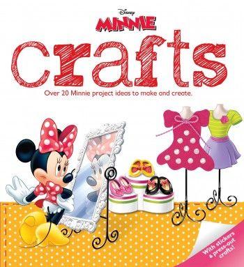 Disney Minnie Mouse Crafts by Parragon Books
