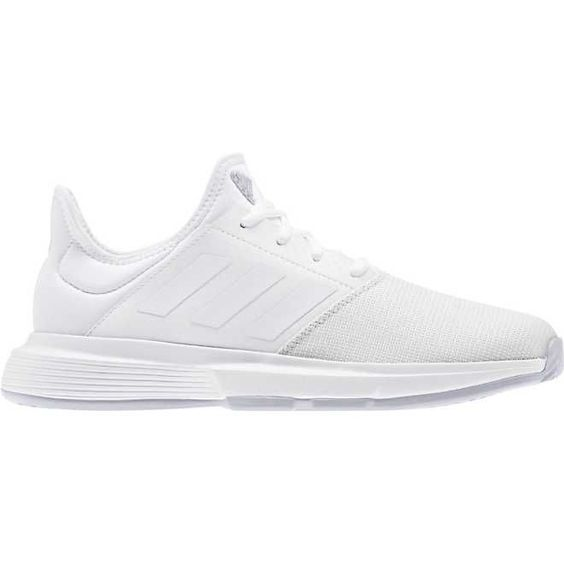 Reduced Tennis Shoes For Men Adidas Gamecourt Clay 2019 White Silver Tennis Shoes Men Adidasadida In 2020 With Images Cool Mens Sneakers Stylish Men Casual Stylish Men Summer
