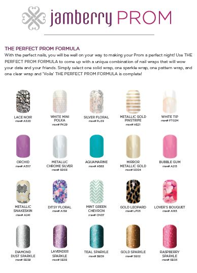 Perfect Prom Nails with Jamberry!  http://emilygist.jamberrynails.net