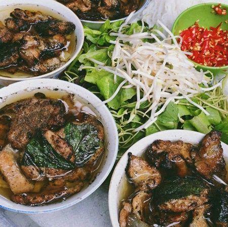 bún chả hà nội: Ho Chi Minh street food