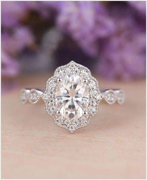 Luxury Antique Wedding Rings Johannesburg Moissanite Engagement Ring White Gold Wedding Rings Vintage Wedding Rings Unique