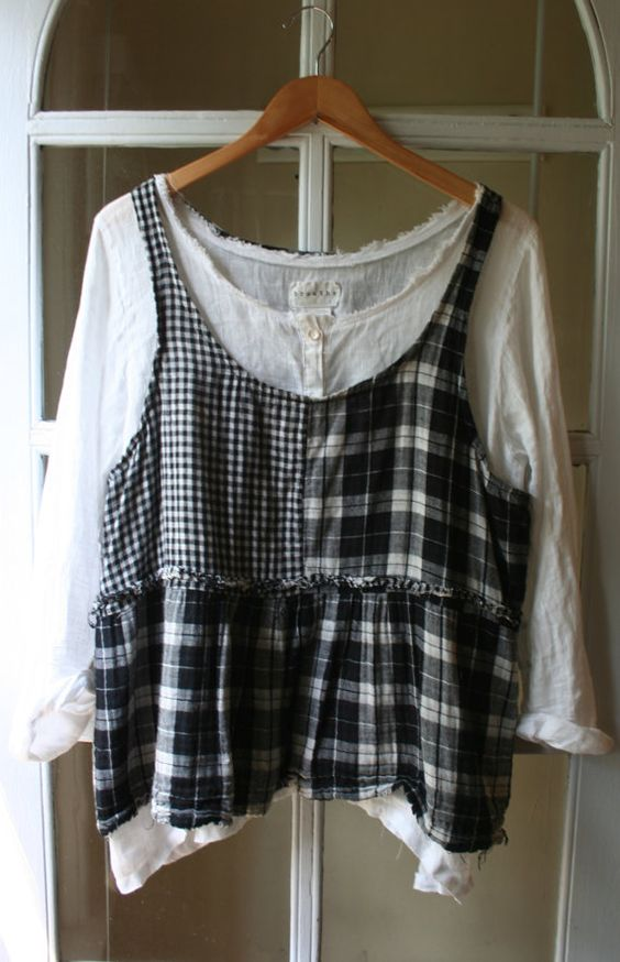 Plaid 'Point Reyes' Tank Cami / by Breathe by BreatheAgainClothing