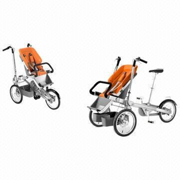 Innovative Product: A baby stroller that turns into a bike in 30s ...