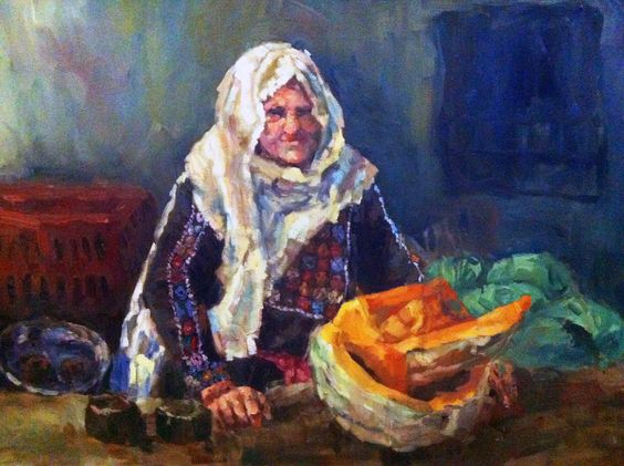 Oil on Canvas  120 X 90 cm  by Artist : Lina Nabhani