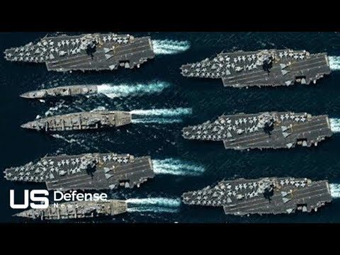 1 A Day On The Brand New Gigantic Us Aircraft Carrier Uss Gerald