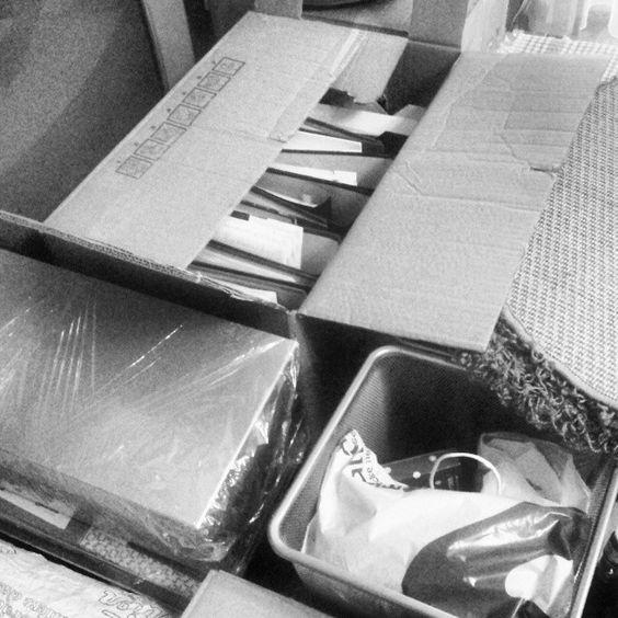 Gut verpackt und bereit zum Umziehen. --> www.bringand.de