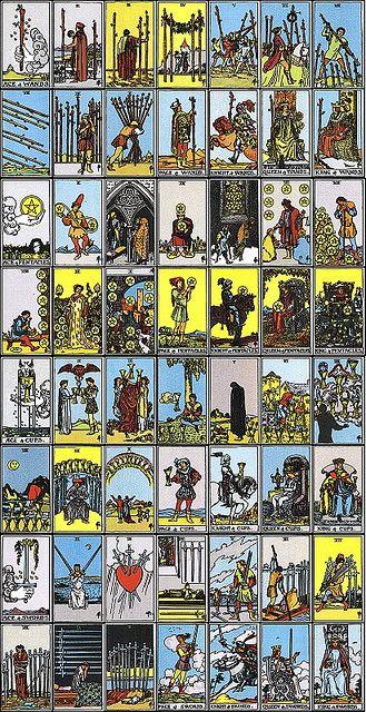 Printable Tarot Deck A Tarot Card Deck And Printable: Spirituality, Decks And Collage On Pinterest
