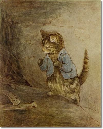 Potter, Beatrix - Beatrix Potter - The Roly-Poly Pudding - There Were Some Mutton Bones Lying About