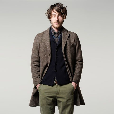 Great balance of colors. Neutral colors with character.  Aspesi Men's Collection