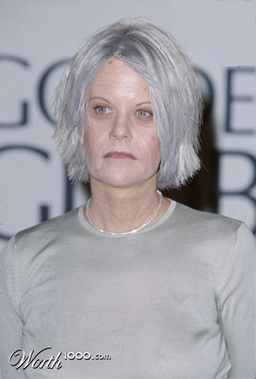 Best ideas about Age Progression, Meg Ryan and Old Age on