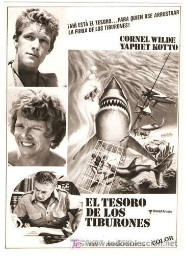 El tesoro de los tiburones (1975), de Cornel Wilde