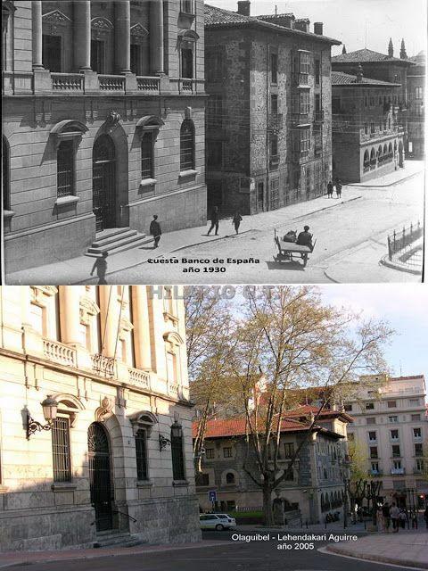 Cuesta Banco de España 1930-2005