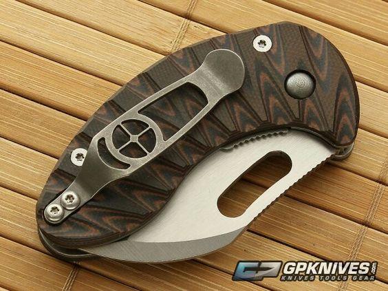 Cutiss custom folding knife