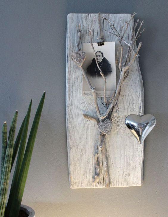wd49 wanddeko aus alten holz altes holzbrett. Black Bedroom Furniture Sets. Home Design Ideas