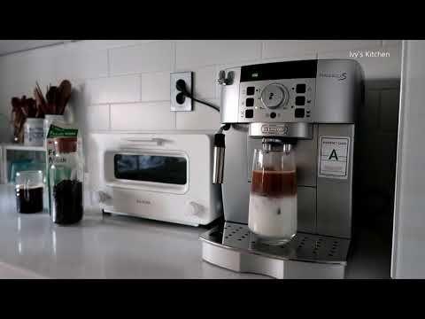 Delonghi Magnifica S Ecam 22 110 Sb 드롱기 전자동 커피머신 Youtube 커피 라떼아트 라떼
