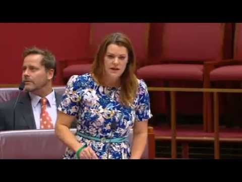 Sarah Hanson-Young - The Minister is a Sociopath