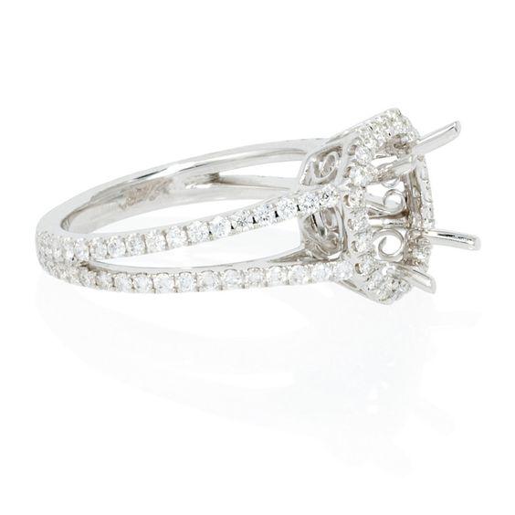 Diamond Engagement Rings Halo Setting 38