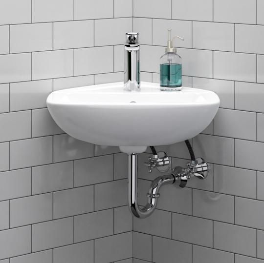 Timberon Corner Vitreous China Wall Mount Sink With Images