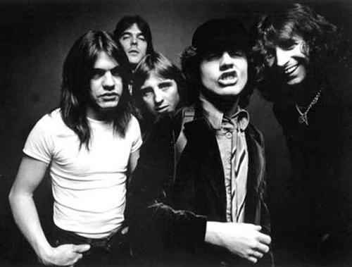AC/DC in Bon Scott days