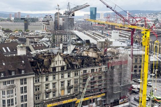Fire Near Zurich S Main Train Station Disrupts Transport Travel News Travel Train Station