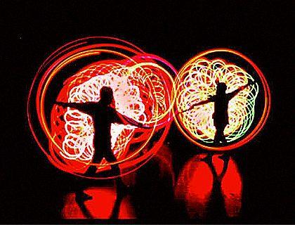Destellos en la oscuridad: Espectacular show de luces LUMA en el Strathmore.