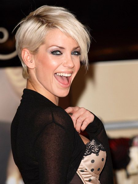 Fine Sarah Harding Hair Short Hairstyles And Search On Pinterest Short Hairstyles Gunalazisus