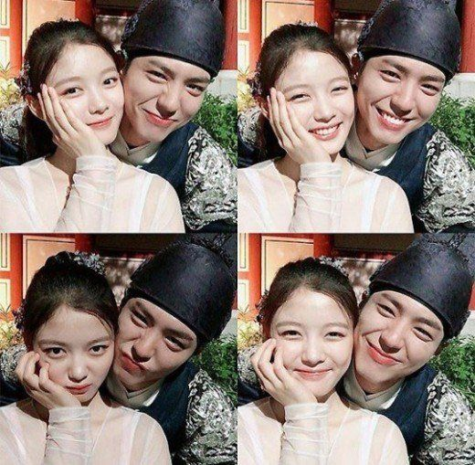 """Moonlight Drawn by Clouds"" Kim Yoo-jeong and Park Bo-geom @ HanCinema :: The Korean Movie and Drama Database"