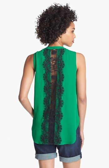 Love the Green and Lace but can't decide if I like this together...