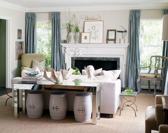 Quaint living room!