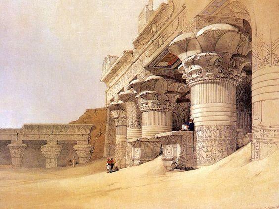 Oil paintings robert ri 39 chard and google on pinterest for Egyptian mural paintings