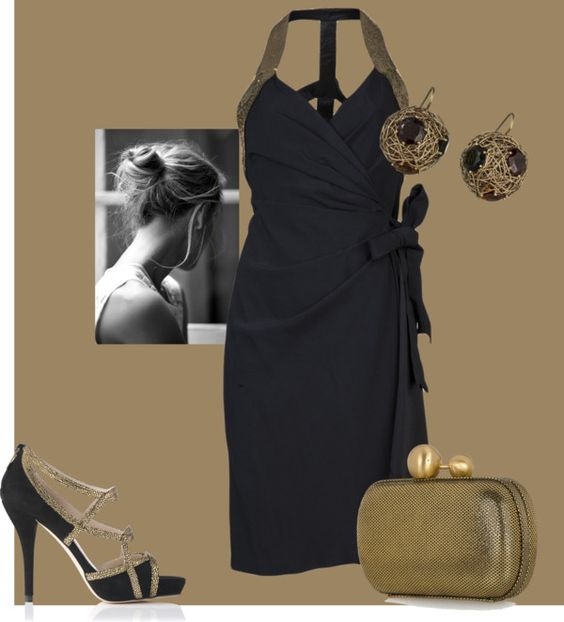 """halter"" by vagrfd ❤ liked on Polyvore"