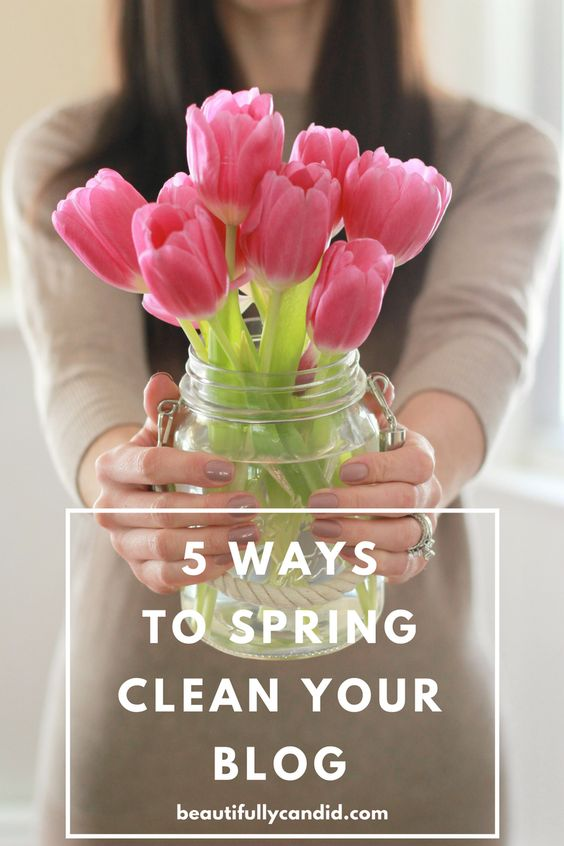 5 ways to spring clean your blog-Totally Terrific Tuesday #126 weekly favorite