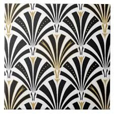 Monochrome Art Deco Marble Tiles by micklyn | pattern and texture ...