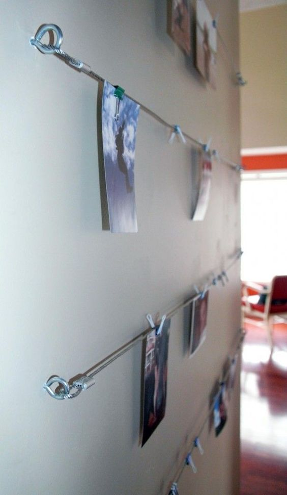 Wire Picture Hanger For The Art Therapist S Office