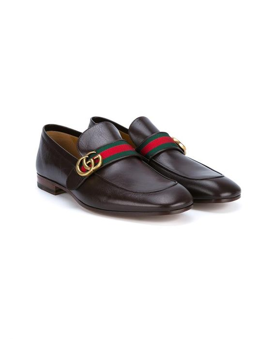 GUCCI Classic Leather Loafers. #gucci #shoes #flats