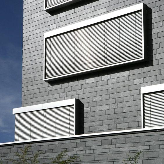 Schieferplatten für die Fassade von Rathscheck Schiefer
