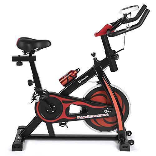 Fitnessclub Indoor Exercise Bike Cycling Spine Bike Cardio Workout W Belt Driven Flywheel Cyc Indoor Bike Workouts Biking Workout Indoor Bike