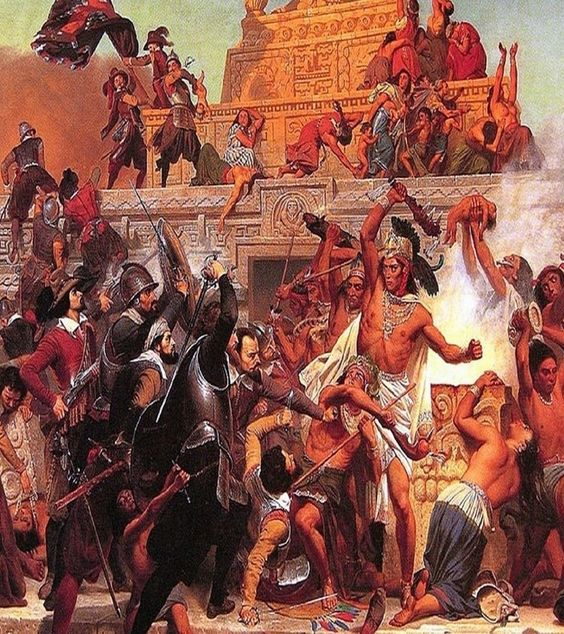 Spanish Conquistadores knew the biggest secret,thats why they killed all the native indians-maya..