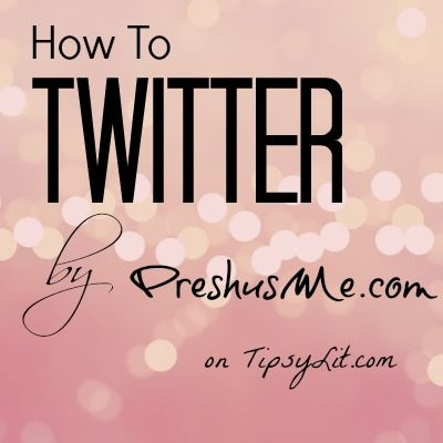 How to Twitter - for writers