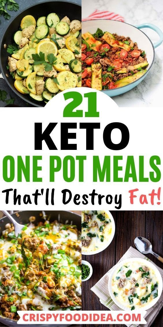 Keto One Pot Meals