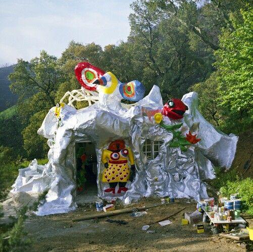 Maison de nikki de st phalle nikki de saint phalle pinterest - Niki de saint phalle maison ...